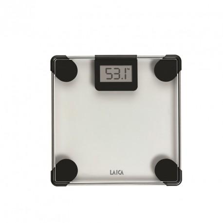 PS1047 L - Pèse-personne électronique en verre - Noir - 150kg