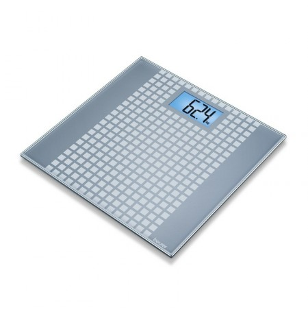 GS 206 Squares - blue backlight - Pèse-personnes