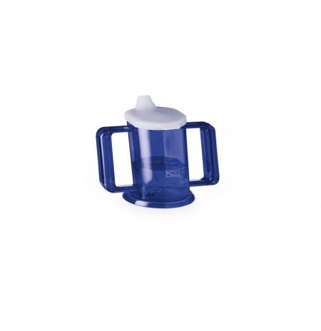 Verre Ergonomique Handycup - Bleu
