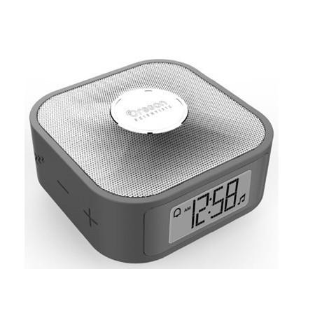 CP 100 - Réveil de voyage enceinte bluetooth - Argent