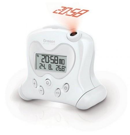 RM 313PN blanc - Réveil projecteur