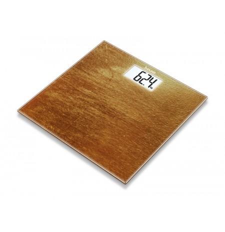 GS 203 Rust - Pèse-personne en verre motif Rouille