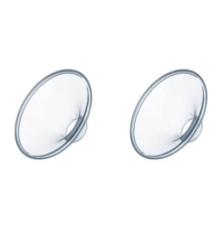 Coussinets Silicone par 2 - (Petite taille et taille normale)