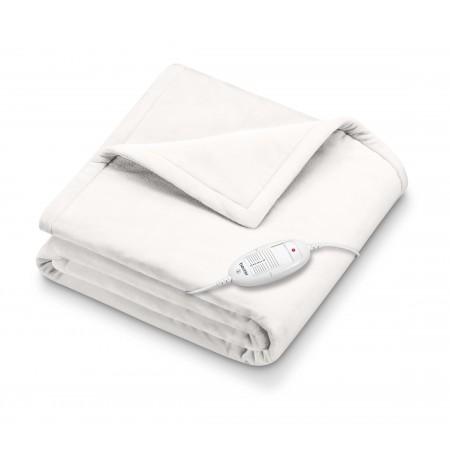 HD 75 Blanc - Couverture chauffante cosy Blanche