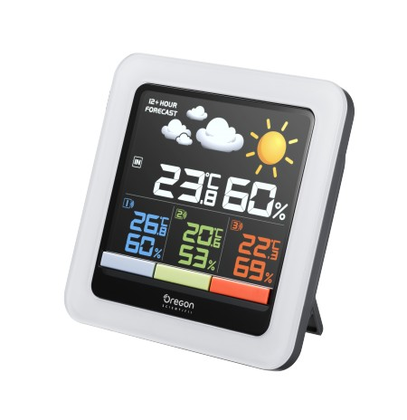 RAR 502 SX - Station M?t?o Clima Control - Blanc - Ecran couleur