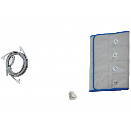 I-PRESS - Kit Beauty-Taille M (ceinture abdominale+tubes+adaptateur)