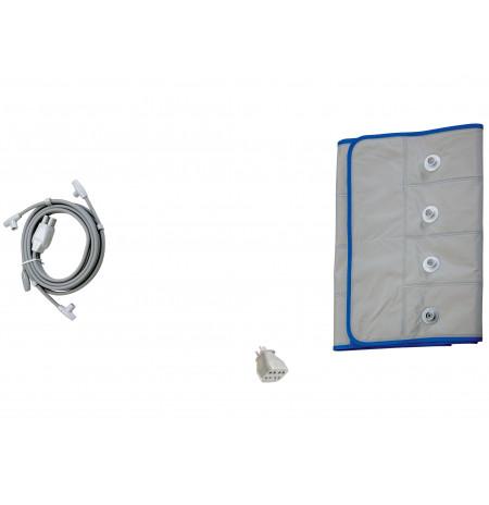 I-PRESS - Kit Beauty -Taille L (ceinture abdominale+tubes+adaptateur)