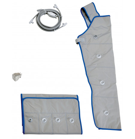 I-PRESS-Kit Total-M (ceinture abdominale+brassière+tubes+adaptateur)